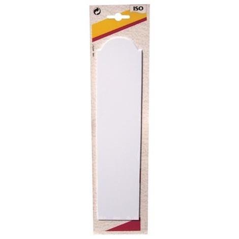ISO - Plaque propreté adhésive - blanc - lot de 2