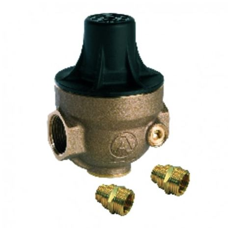 Isobar water pressure reducer multi-threaded 1/2 to 3/4 and floating anchor nut composite cover ISOPLUS and PCC - ITRON : ISOPL