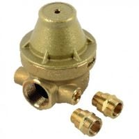Isobar water pressure reducer multi-threaded 1/2 to 3/4 brass cover ISOPLUS - ITRON : ISOPLUSMG