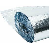 Isolant métallisé 3 couches à bulles d'air Werkapro 10m2 1,25 x 8m