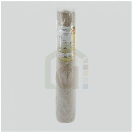 Isolant mince en lin pour parquet FEUTRALIN - 4mm - 4mm | rouleau(x) de 15 m² - 0 épaisseur 4mm | 1m x 15m = 15m² - Paquets de 15 m²