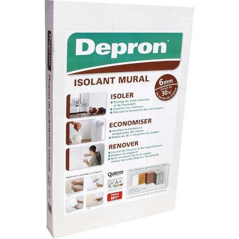 Isolant mural Dépron Quelyd