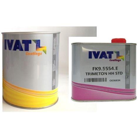 Isolante fondo acrilico ivat kfl3050I sky filler grigio 1litro + catalizz hh