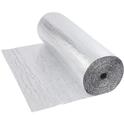 Isolation Thermique et Acoustique - Feuille Aluminium Sol Mur Toit