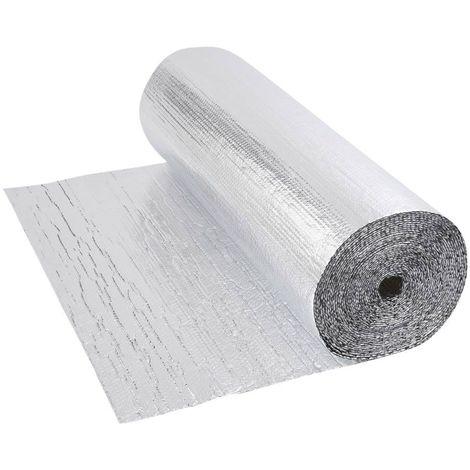 Isolant Thermique Et Acoustique Double Feuille Aluminium Bulles 30m Jdac0325
