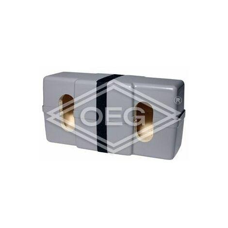 Isolation thermique WD ZB 20 20 plaques PUR avec enveloppe plastique