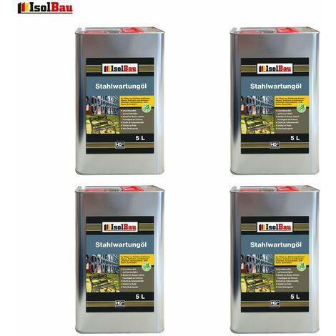 Isolbau Huile anticorrosion Huile antirouille Huile en spray 20 L Huile pénétrante Apprêt pour métal Primaire
