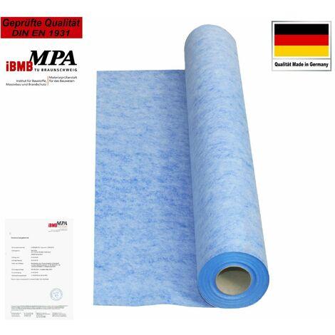 Isolbau Membrane d'étanchéité 15m2 Membrane d'étanchéité Tapis de découplage 0,67mm 00g/m2 Salle de bains du balcon