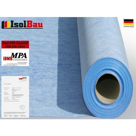 Isolbau Membrane d'étanchéité 5m2 Membrane d'étanchéité Tapis de découplage 0,67mm 00g/m2 Salle de bains du balcon