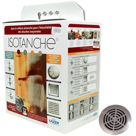 ISOTANCHE bonde horizontale D50 grille ronde 1500X1800