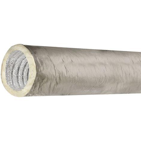 ISOTIP Conduit Souple isolé 125 mm Sonovac DAC - Longueur de 5 m