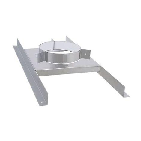 Isotip joncoux 199015 Bracket plancher stainless DP D153