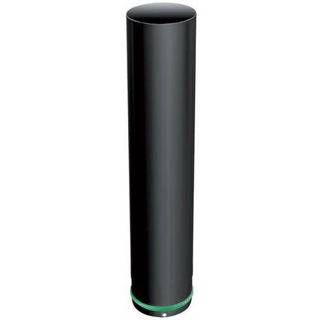 ISOTIP Tuyau APOLLO PELLETS Email 0,7 - Diamètre 80 - Elément 500 mm + Joint