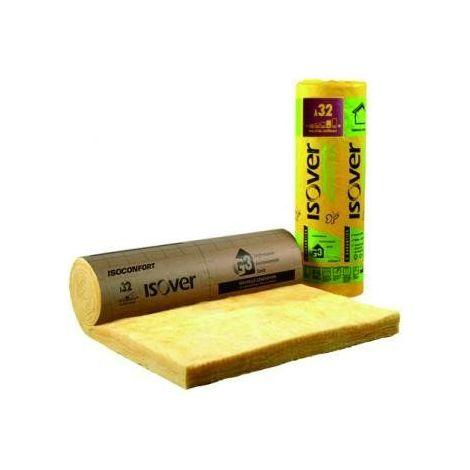 ISOVER ISOCONFORT 32 REVETU KRAFT | Ep.200mm 1,2mx2,2m | R=6,25 - rouleau(x) de 2.64m²