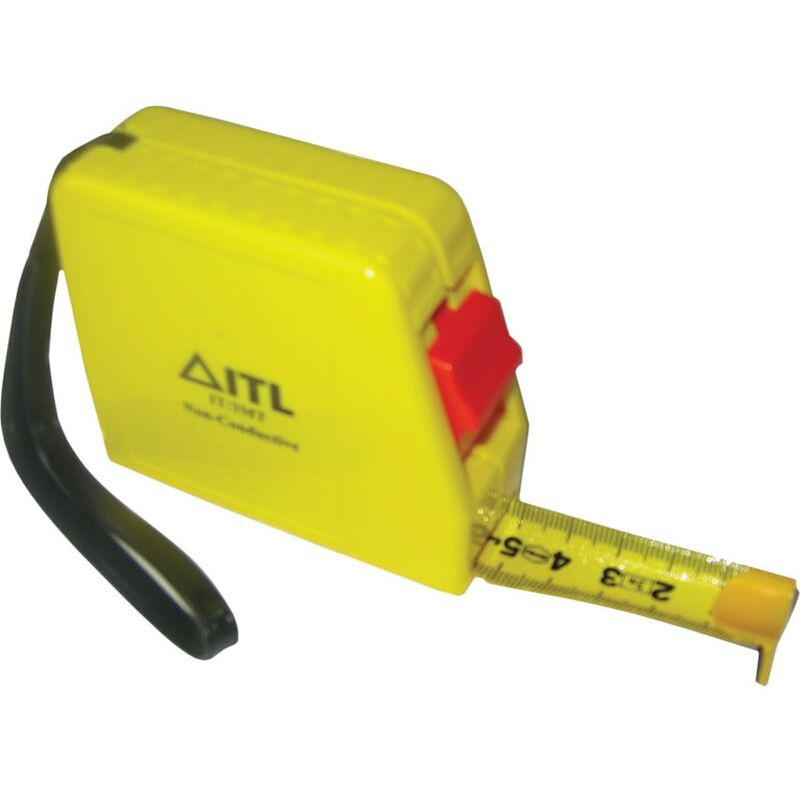 Image of IT/3MT 3MTR Non-conductive Tape Measure - Itl Insulated Tools Ltd