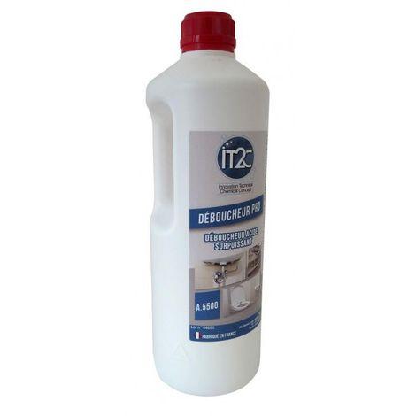 IT2C Déboucheur pro acide sulfurique 1L