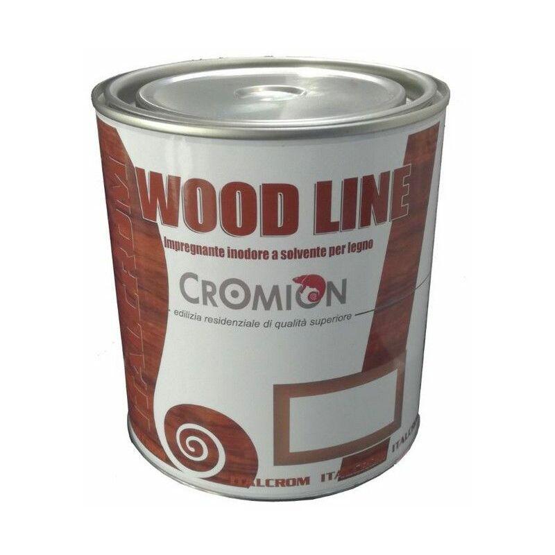Image of impregnante cerato castagno 0,750 lt per legno per ambienti marini e montani - Italcrom