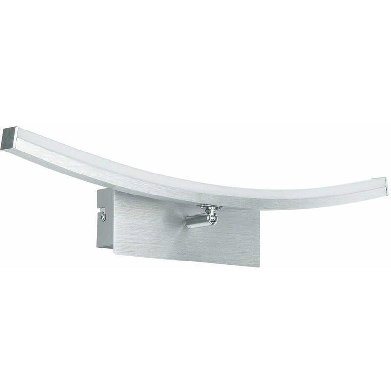 Image of 11-italux - Kseno modern bathroom wall light silver