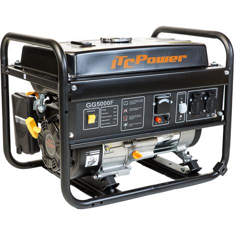 ITCPOWER Generador Gasolina 4/4,5 Kw con motor ITCPower IC340 de 11 hp.