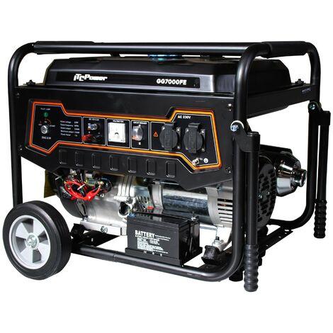 ITCPOWER - Generador Gasolina 5,0/5,5 Kw con motor ITCPower IC390E de 13 hp. Arranque eléctrico.