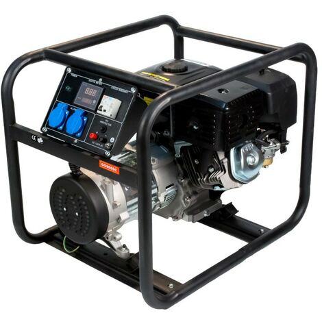 ITCPOWER - Generador Gasolina 6,0/6,5 Kw con motor ITC Power IC420E de 15 hp. Panel digital 5 funciones