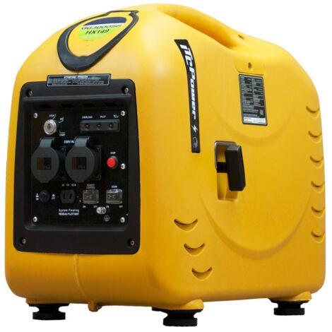 ITCPOWER - Generador Inverter 2,6/2,8 Kw. Unicamente 34 kg. Silencioso. Corriente 100% estable