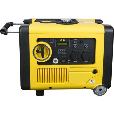 ITCPOWER - Generador Inverter 3,6/4 Kw. Unicamente 47 kg. Silencioso. Corriente 100% estable