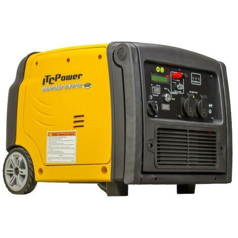 ITCPOWER - IT-GG35EI Generador Inverter 2,8/3,2 Kw. Unicamente 40 kg. Silencioso. Corriente 100% estable