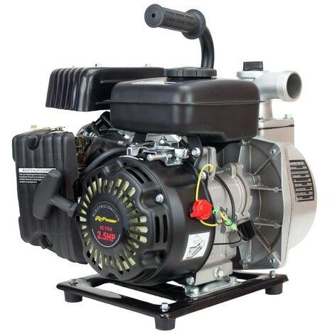 "ITCPOWER - Motobomba 1,5"" (40mm) Aguas Limpias. Motor ITCPower 2,4hp y accesorios incluidos"