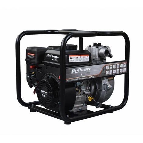 """ITCPOWER - Motobomba 2"""" (50mm) Aguas Limpias de alta presion. Motor ITCPower 7hp y accesorios incluidos"""