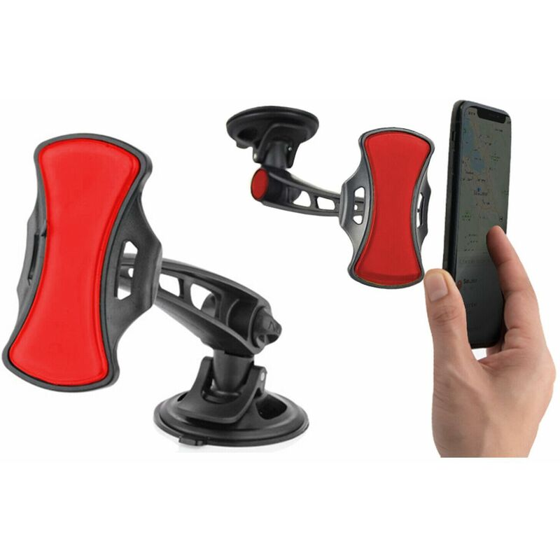 Image of iTech Universal 360° In-Car Windscreen Dashboard Smartphone Mount Holder, Black