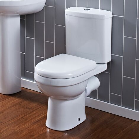 Ivo Close Coupled Toilet & Soft Close Seat