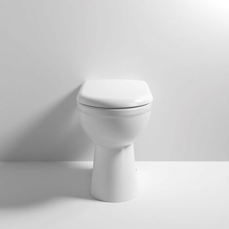 Ivo Comfort Height Back To Wall WC Pan & Soft Close Seat