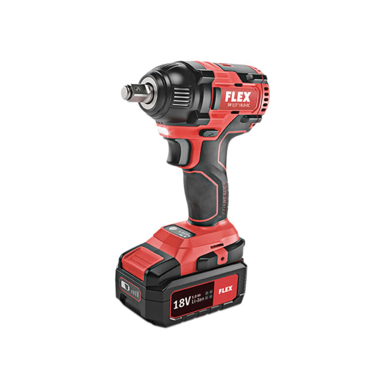 Image of 1/2in Impact Wrench 18V 2 x 5.0Ah Li-ion - Flex Power Tools