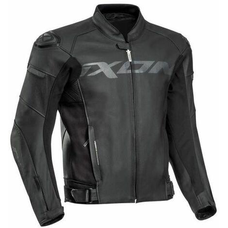 IXON Blouson moto Sparrow cuir - Homme - Noir