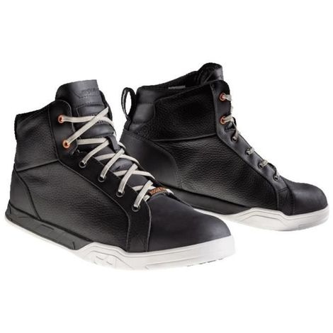 IXON CHAUSSURES MOTO ROGUE STAR - HOMME - NOIR, TAILLE: 43