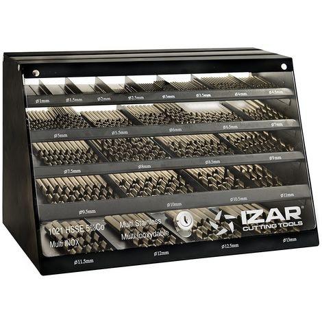 IZAR 55448 - Broca hsse DIN338w multi inox cabinet 1021