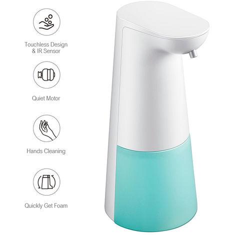 Jabon Dispensador automatico de infrarrojos sin contacto, 250ML, azul