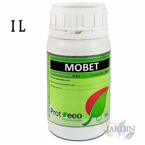 Jabón potásico Mobet 1 litro, fortificante e insecticida