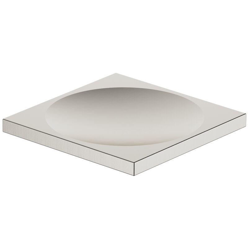 Jabonera MEM de modelo de suelo, 84410780, color: Mate platino - 84410780-06 - Dornbracht