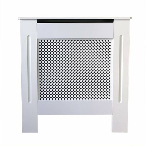 Jack Stonehouse Diamond Lattice Grill White Painted Radiator Cover - Mini