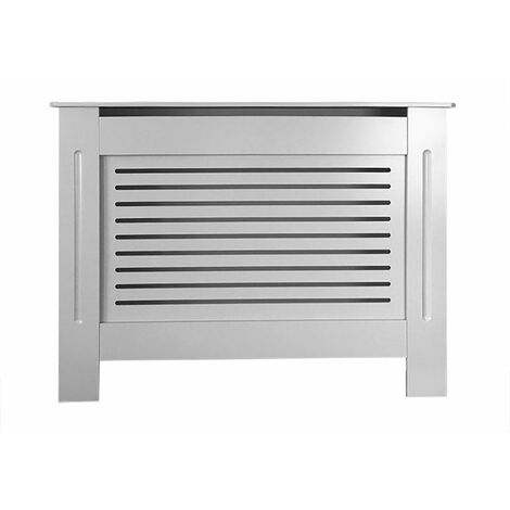 Jack Stonehouse Horizontal Grill French Grey Painted Radiator Cover - Small