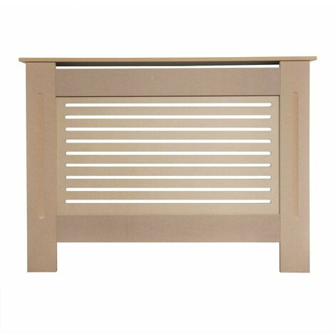 Jack Stonehouse Horizontal Grill Unfinished Radiator Cover - Small - Unpainted