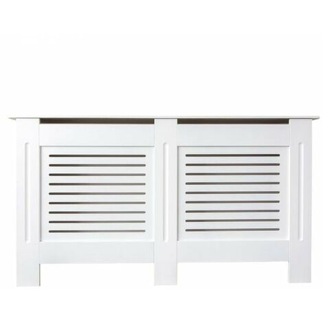 Jack Stonehouse Painted Radiator Cover Radiator Cabinet Modern Design MDF - white