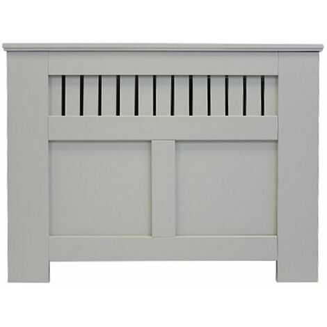 Jack Stonehouse Panel Grill French Grey Painted Radiator Cover - Small