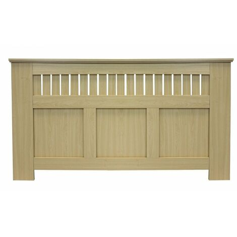 Jack Stonehouse Panel Grill Maple Effect Radiator Cover - Large