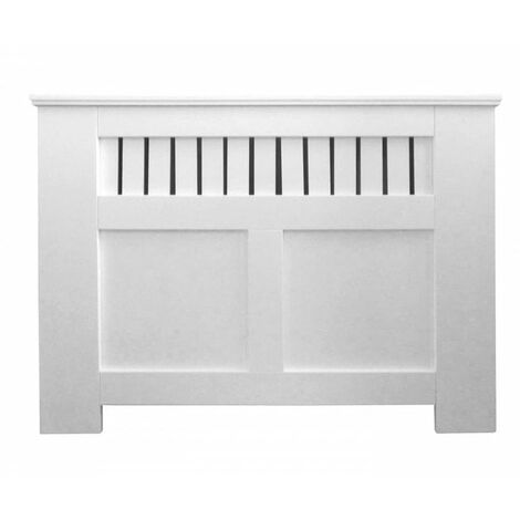 Jack Stonehouse Panel Painted Radiator Cover White - Small