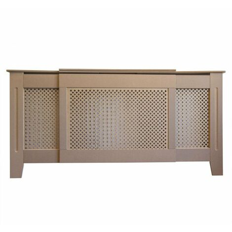 Jack Stonehouse Radiator Cover Radiator Cabinet MDF Traditional Design - Unpainted