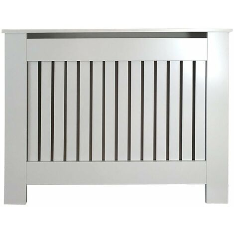 Jack Stonehouse Vertical Grill French Grey Painted Radiator Cover - Small