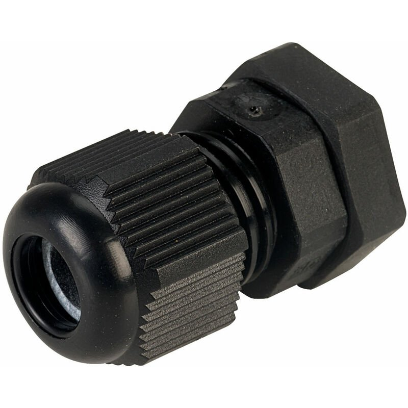 Image of 50007M12PASW M12 Black Dome Cable Gland - Jacob